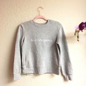 Sweaters - Crew neck sweater women's shirt size XS